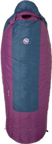 Big Agnes Roxy Ann 15F / -9C Down Sleeping Bag (650 Downtek) Regular Right Zip (Blue/Purple), Outdoor Stuffs
