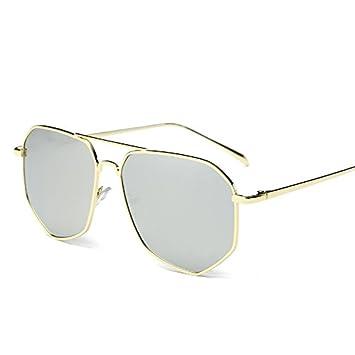 LXKMTYJ Personalizar una cara redonda gafas de sol ...