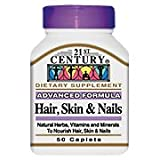 21st Century Hair, Skin and Nails Caplets, 60-Count Review