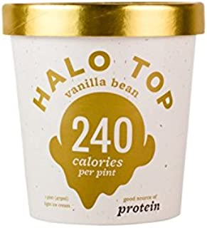 product image for Halo Top Vanilla Bean Ice Cream,, 16 Ounce (Pack of 8)