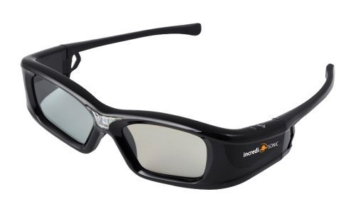 Learn More About IncrediSonic Vue Active DLP-Link 3D Glasses Rechargeable