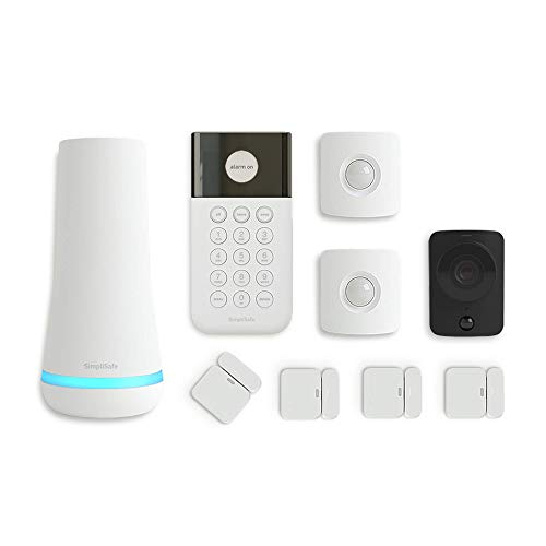 SimpliSafe 9 Piece Wireless Home Security System w/HD Camera - Optional 24/7 Professional Monitoring...