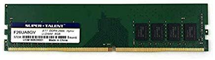Super Talent DDR4-2666 8GB Memory PC Memory F26UA8GV