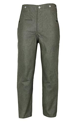 Epic Militaria Replica WW2 German M40 Field Grey Wool Trousers (32 ()