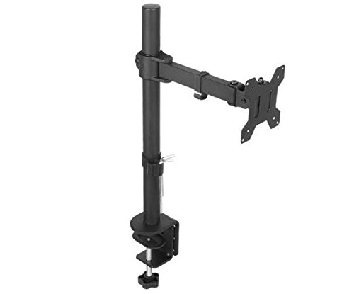 Amazon #LightningDeal 68% claimed: Single Monitor Arm Mount with Fully Adjustable Tilt / Swivel / Rotate Ability for Screens up to 27""