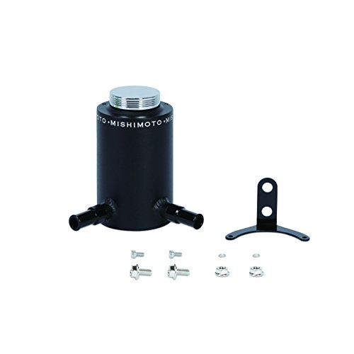 Mishimoto MMRT-PSAWBK Aluminum Power Steering Reservoir Tank, Wrinkle Black