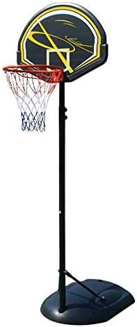 子供用バスケットボールスタンドキッズアジャスタブルプロテーブルバスケットボールセット、子供用ポータブルバスケットボールスタンド(カラー:ブラック、サイズ:ワンサイズ)