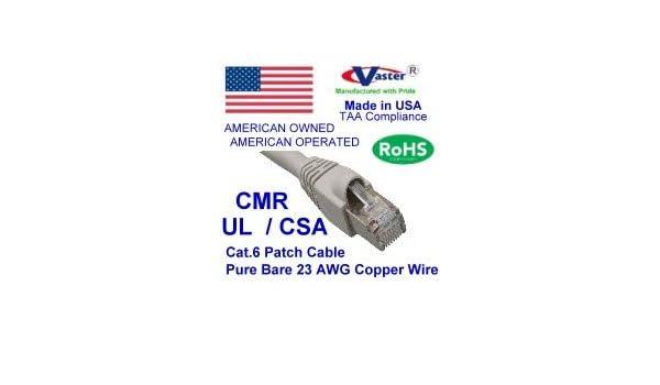 35 Ft Cat5e 100/% Copper Black Color SuperEcable 3 PCS//Pack Ethernet Network Patch Cable