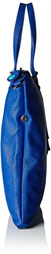 GABS Goldie Tg L Black - Piatta Trasf. Razza, Borsa Donna Blu (Bluette)