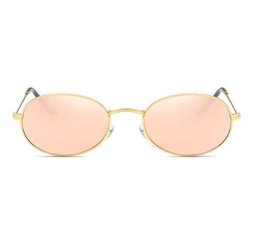 Redondo Gafas Marco de hibote Vintage Sol Steampunk Mujeres de Hombres Oval Aleación C3 Pequeño xqv8wqpnP