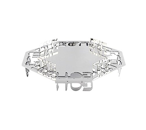 Passover, Limited Edition, Unique Stainless Steel Matzah Tray, From ISRAEL By Dani Schwartz For: Wedding, Seder Night Passover by Judaica