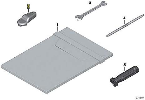 BMW K52 R1200RT R1250RT Oil Filler Cap Removal Key Tool 71118551864
