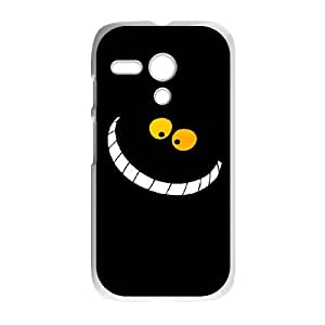 Motorola Moto G Cell Phone Case for Classic Theme lovely Cheshire Cat in Wonderland Cartoon pattern design GLYCCIW95012