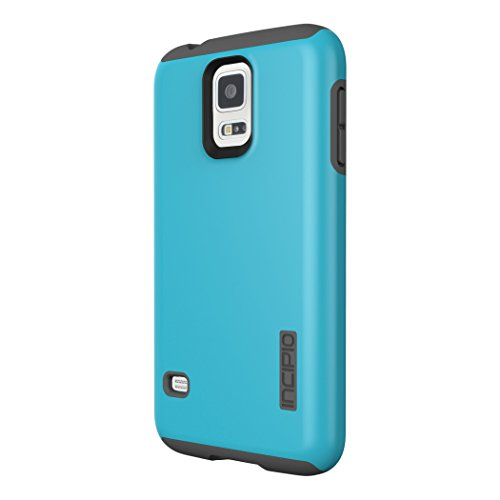 Incipio DualPro Case for Samsung Galaxy S5 Blue and Gray *SA-526-CYN (Certified Refurbished)