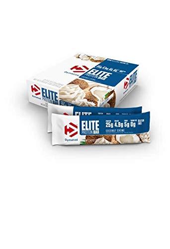 Dymatize Elite Protein Bar, Coconut Creme, 12 Count