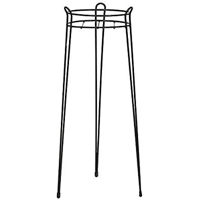 CobraCo 30-Inch Black Basic Plant Stand S1030-B (Pack of 3) : Garden & Outdoor