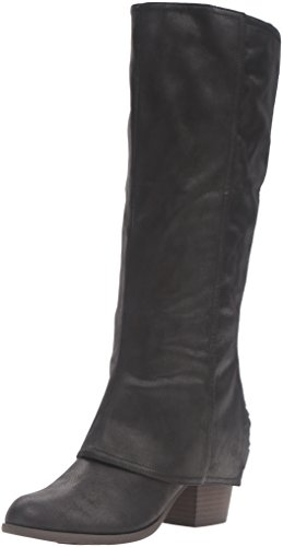 Fergalicious Women's Lundry Western Boot, Black, 8.5 M US