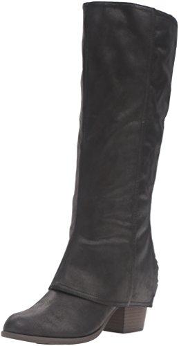 Fergalicious Women's Lundry Western Boot, Black, 7.5 M US