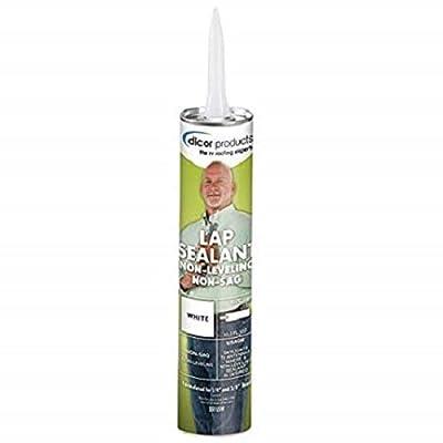 Dicor - 551LSW-12 White Non-Sag Roof Lap Sealant