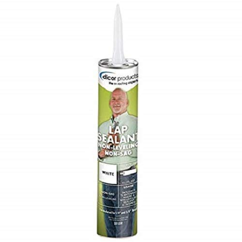 Dicor 551LSW1 White Non-Sag Roof Lap Sealant - 10.3 oz. ()