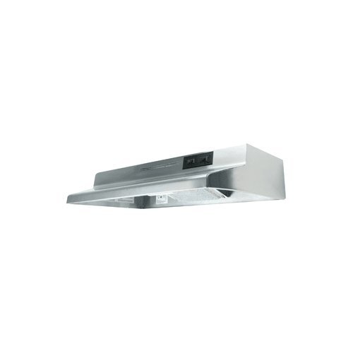 Air King AD1308 Advantage Ductless Under Cabinet Range Hood with 2-Speed Blower, 30-Inch Wide, Stainless Steel Finish ()