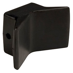 (CE Smith Y-Style Bow Stop, Black, 4-Inch- Replacement Parts and Accessories for Your Ski Boat, Fishing Boat or Sailboat)