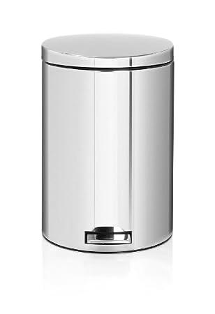 Amazon.com: Brabantia 478369 Pedal Bin, 20-liter, acero ...
