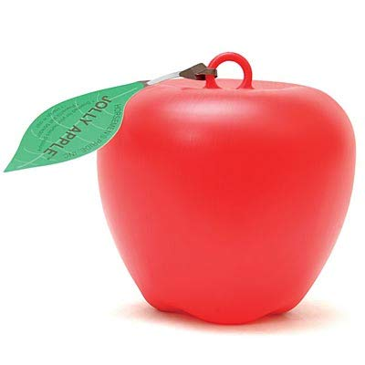 Jolly Pets Apple Toy, Red