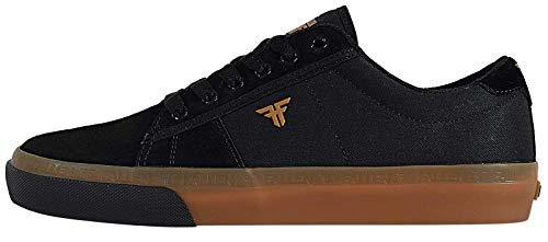 Fallen Men's Bomber Skate Shoe (5 M US, Black/Gum) (Fallen Shoes Skate)