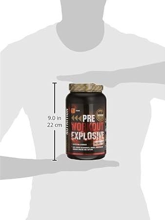 GoldNutrition Pre-Workout Explosive Suplemento para Deportistas, Sabor Naranja - 1000 gr: Amazon.es: Salud y cuidado personal