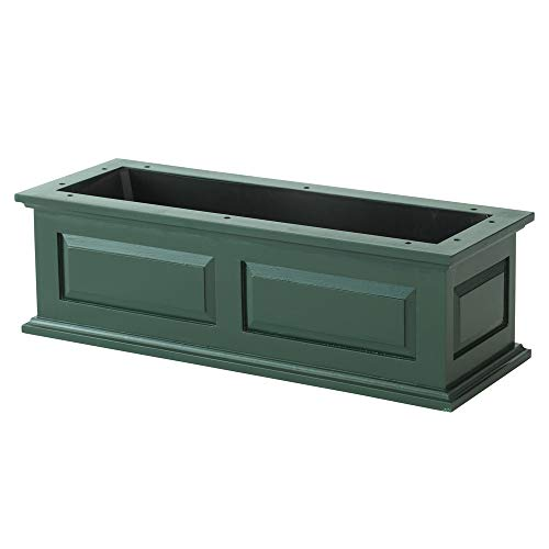 DMC Products Savannah 30-Inch Solid Wood Window Box, Hunter ()