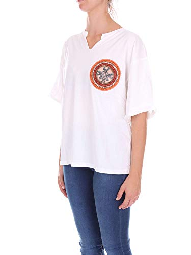 Bianco amp; shirt 181ts087e Donna T Mrs Mr Italy RCq0fwxnS1