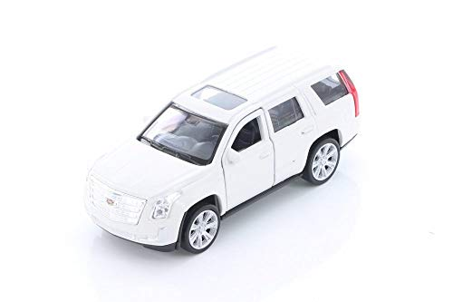 (Welly 2017 Cadillac Escalade SUV, White 43751D - 1/39 Scale Diecast Model Toy Car but NO Box )