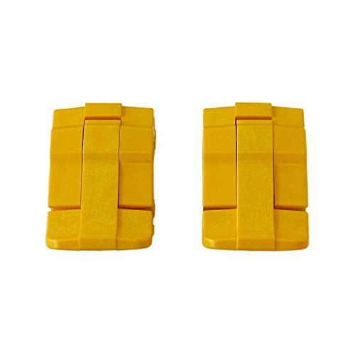 - 2 Yellow Replacement latches for Pelican Cases.