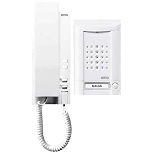 Ritto 1673170 Minivox Wohntelefon-Set 1WE weiss