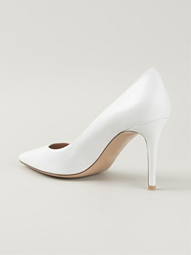 Donne Elegante 8cm 8 Stiletto Elegante Tacchi Toe Centimetri Shoes Court Pompe Elashe Punta Opaco High Women Matte Pumps white bianco Stiletto Decolleté Pointed Punta A Heels Alti Elashe BXaqT
