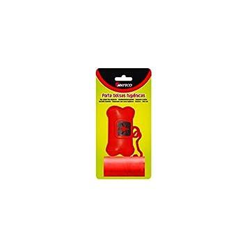 Portabolsas+2 Rollos de 20 Bolsas Colores Surtidos: Amazon ...