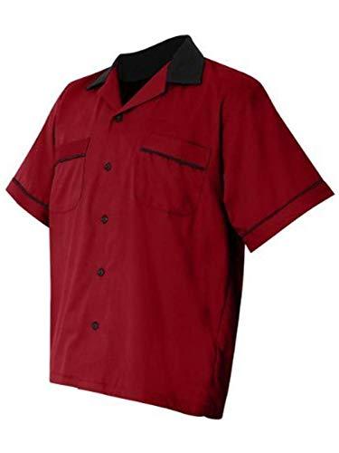Hilton Bowling Retro Gm Legend (Red_Black) (S)