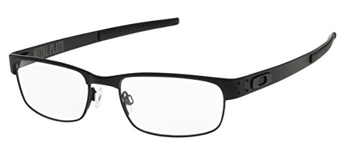 Oakley Metal Plate Eyeglasses New 100% Authentic (Matte Black 55)