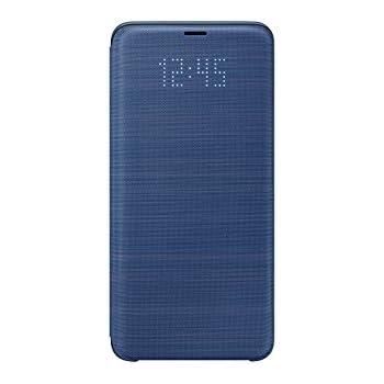 samsung galaxy s9 led view wallet case blue. Black Bedroom Furniture Sets. Home Design Ideas