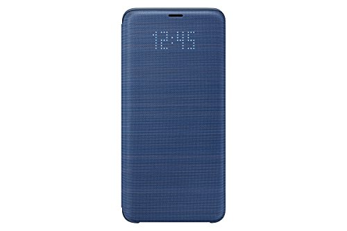 Samsung Galaxy S9+ LED View Wallet Case, Blue