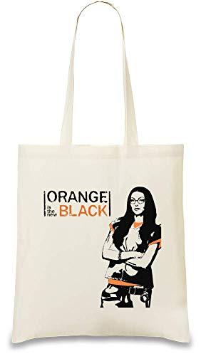 Handbag For Eco Color Orange Frauen Custom Is Art Shoulder amp; Unique Black Stylish Bag The Printed 100 Tote Naturel Day Bags friendly New Use Natural Every By usable Soft Re Cotton wwa6qxB