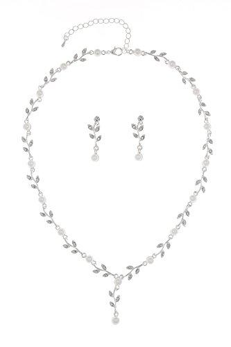 Venus Jewelry Elegant Necklace Earrings