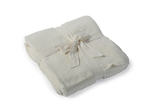 Barefoot Dreams Bamboo Chic Lite Throw, Pearl by Barefoot Dreams