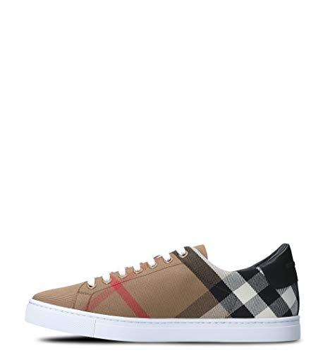 hot sale online dab45 82344 Beige 4054037 Cotone Burberry Sneakers Uomo UwnqTUYI1x