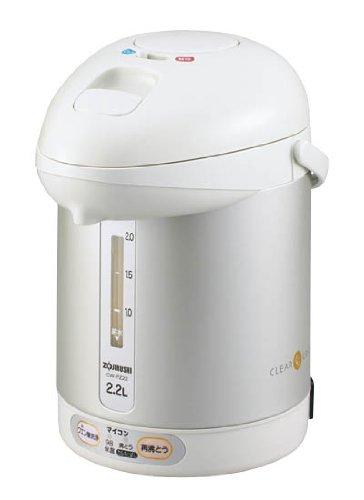 Air pot 2.2L CW-PZ22-HH clear gray electric boiling ZOJIRUSHI microcomputer by Zojirushi
