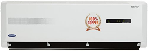 Carrier 1.2 Ton 3 Star (2018) Split AC with Cyclojet technology (Esko+, White)