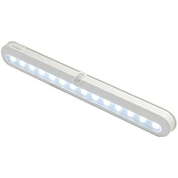 Closet Light, ELanderu0026trade;14 LED Super Bright Battery Operated PIR Motion  Activated LED Under