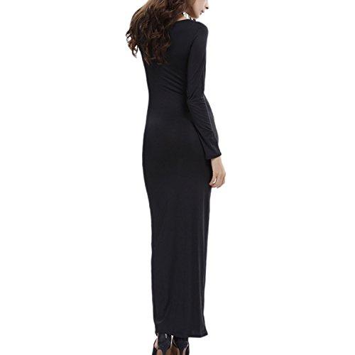 Kleid midi lange schwarz