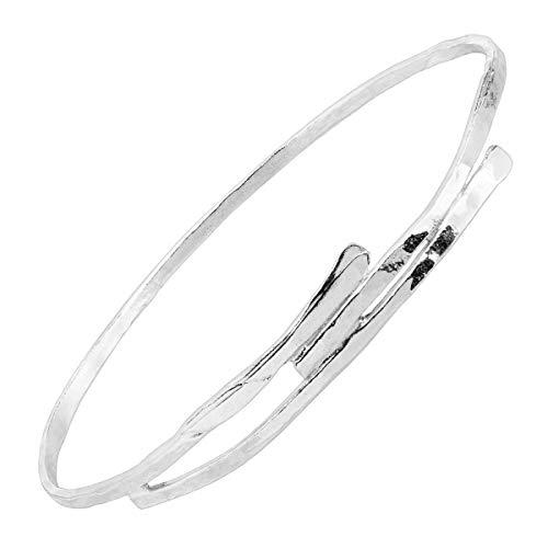 Hammered Silver Bangle - Silpada 'Alamere' Hammered Wrap Bangle Bracelet in Sterling Silver